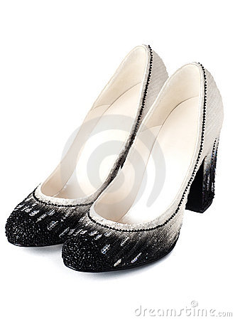 Fancy high heel women shoes