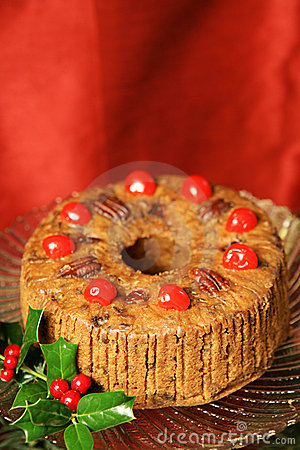 Free Fancy Holiday Fruitcake Stock Image - 3315771
