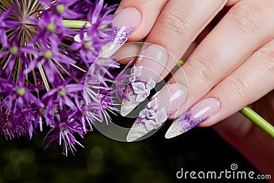 Fancy manicure