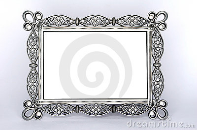 A Fancy Metal Photo Frame