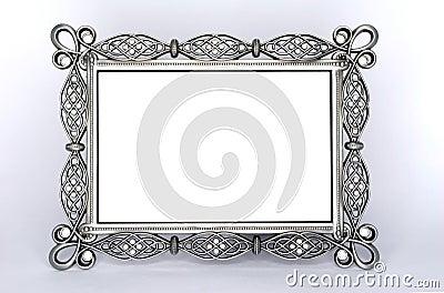 A Fancy Metal Photo Frame
