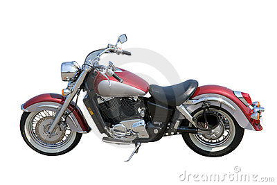 Fancy motorcycle