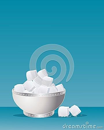Fancy sugar bowl