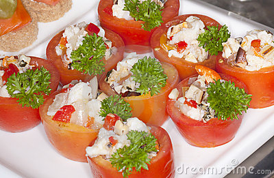 Fancy Sushi Appetizers