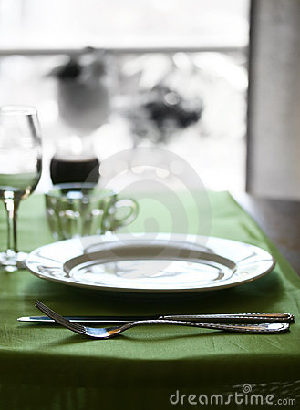 Free Fancy Table Setting Royalty Free Stock Image - 5547496