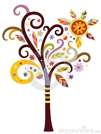 Fancy Tree Royalty Free Stock Images - Image: 16182469