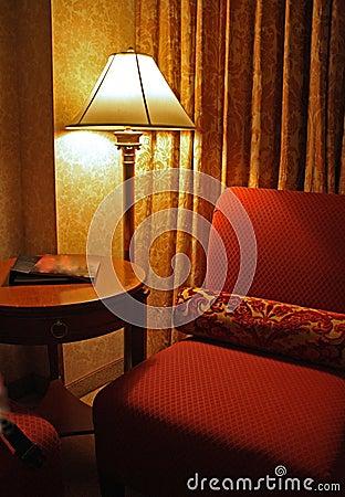 Fancy vintage hotel room d cor vertical stock image for Vintage hotel decor