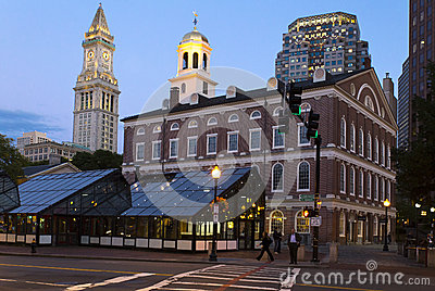 Faneuil Hall Editorial Photo