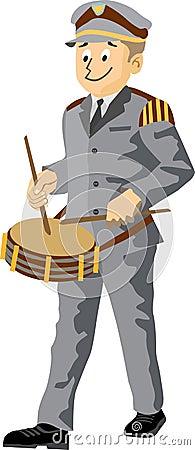 Fanfare drummer
