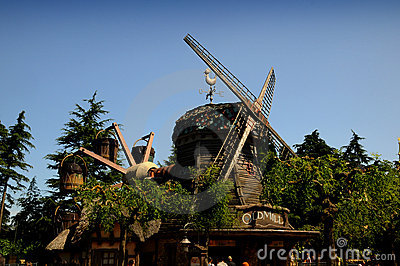 Fanstasyland at Disneyland Paris Editorial Stock Photo