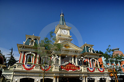 Fanstasyland at Disneyland Paris Editorial Stock Photo