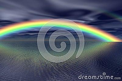 Fantacy rainbow