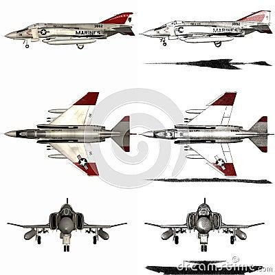 Fantasma - avião de lutador