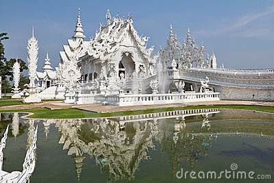 Fantastic beauty the White palace