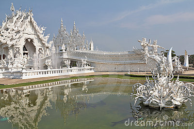 Fantastic beauty White Temple