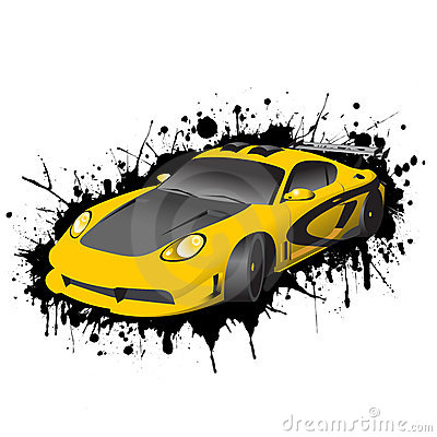 Fantastic Car Series Editorial Stock Image