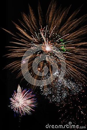 Free Fantastic Fireworks Royalty Free Stock Photos - 6450178