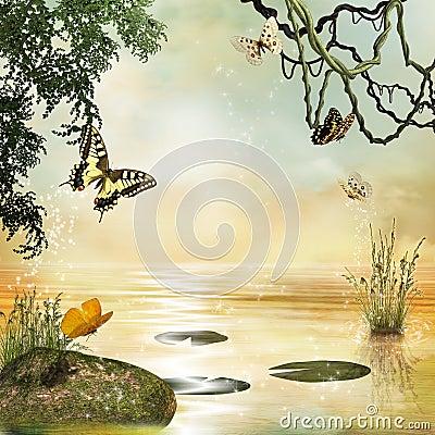Fantastic lake