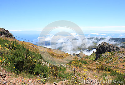 Fantastic Mountain View in Madeira