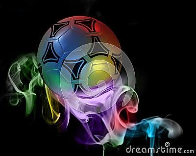 fantastic soccer ball stock image image 15589971