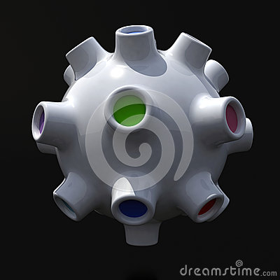 Fantastic three-dimensional object