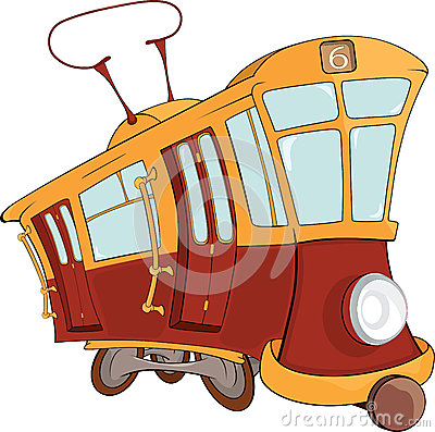 Free Fantastic Tram Stock Photos - 25511433