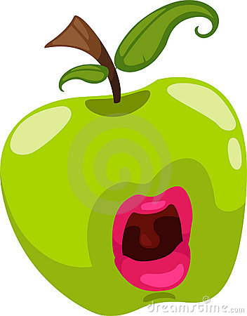 fantasy apple vector