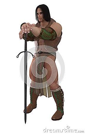 Fantasy Barbarian Warrior