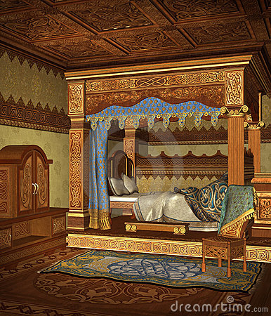Fantasy Bedroom 4 Stock Image Image 13240851
