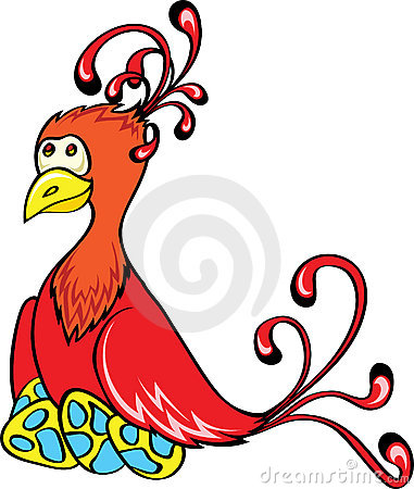 Free Fantasy Bird With Eggs Royalty Free Stock Photos - 17312568