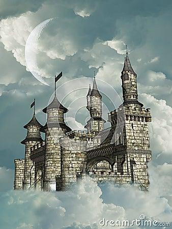 Free Fantasy Castle Stock Photo - 11097660