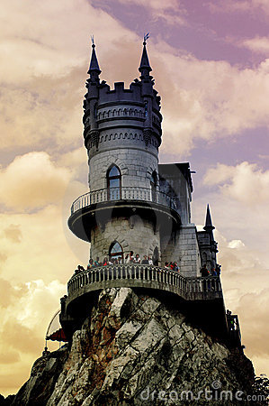 Free Fantasy Castle Royalty Free Stock Image - 15225506