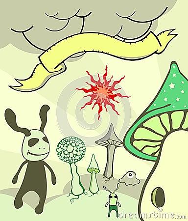 Free Fantasy Character Illustration Stock Photo - 9506100
