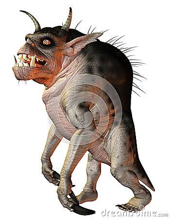 Fantasy Creature hellhound