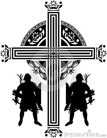 Fantasy crusaders cross