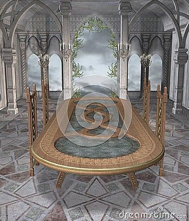 Fantasy dining room