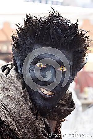Fantasy Fair black Editorial Image