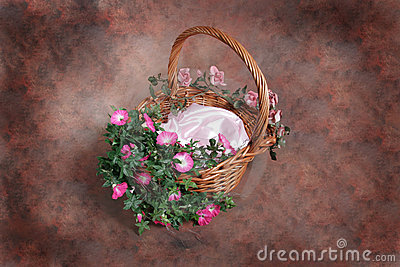 Fantasy Floral Basket Photographer Studio Set (Insert Isolated Client)