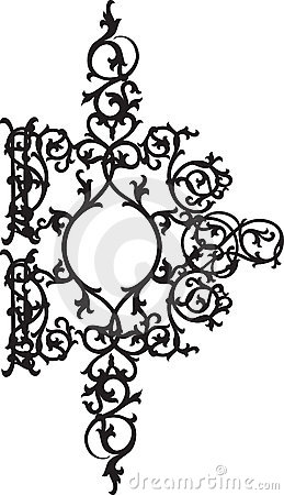 Fantasy floral ornament