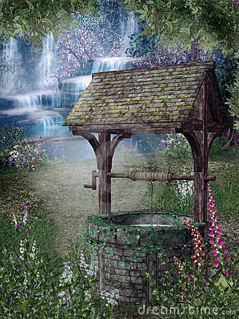 Free Fantasy Garden 2 Royalty Free Stock Images - 11160669