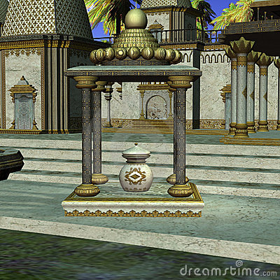 Fantasy Indian Temple