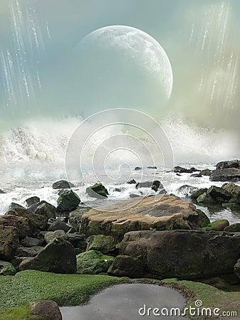 Free Fantasy Landscape Royalty Free Stock Photos - 14812208
