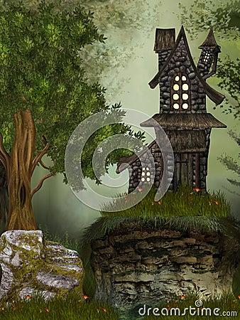 Free Fantasy Landscape Stock Photos - 18331393