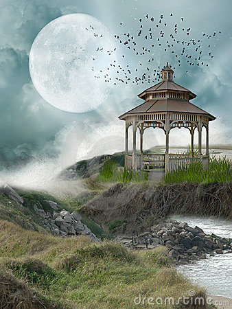 Free Fantasy Landscape Royalty Free Stock Image - 18449016