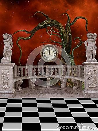 Free Fantasy Landscape Royalty Free Stock Image - 22308226