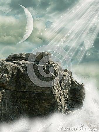 Free Fantasy Landscape Stock Image - 6721051