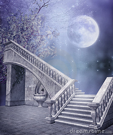 Free Fantasy Marble Stairs Stock Photo - 12125120