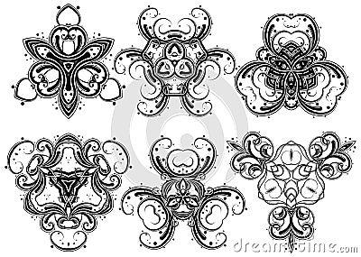 Fantasy ornaments 3