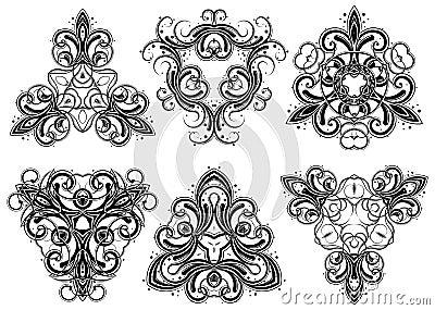 Fantasy ornaments 4