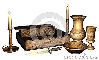 Fantasy ritual objects
